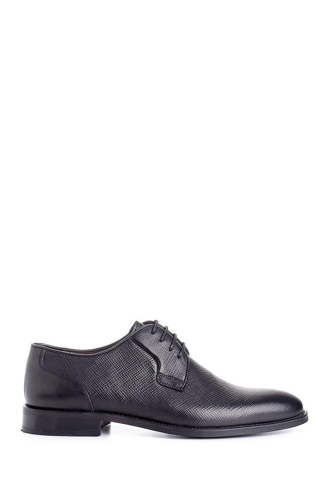 Siyah Erkek Deri Klasik Ayakkabı 5638149941