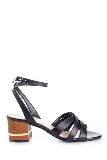 5638161937 Kadın Kalın Topuklu Ayakkabı