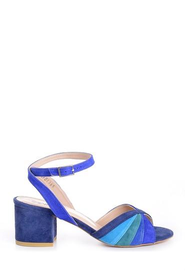 5638162435 Kadın Kalın Topuklu Ayakkabı