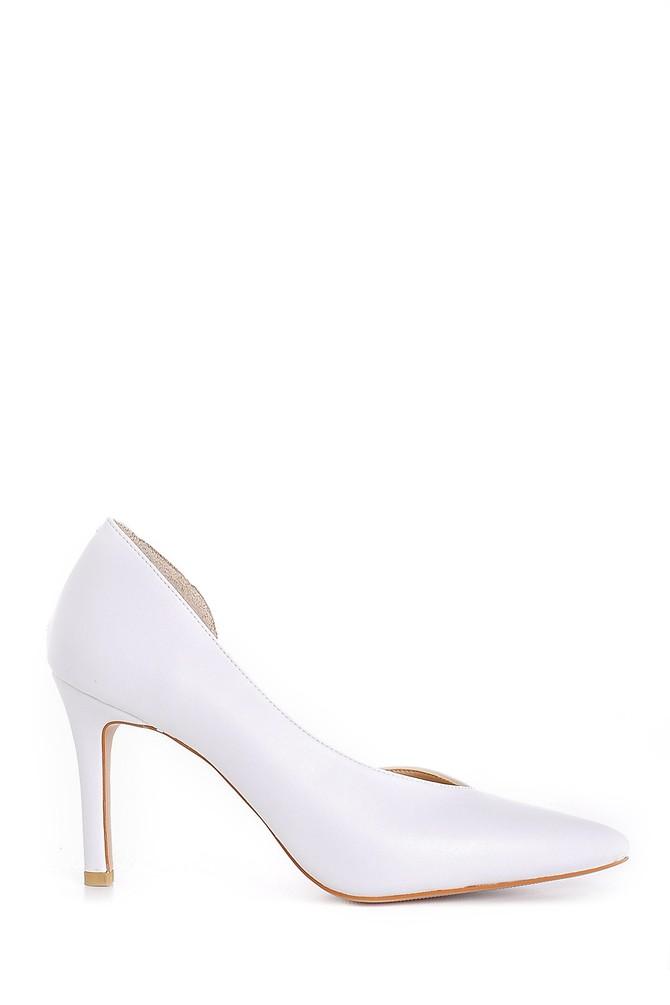 Beyaz Kadın Stiletto 5638163453