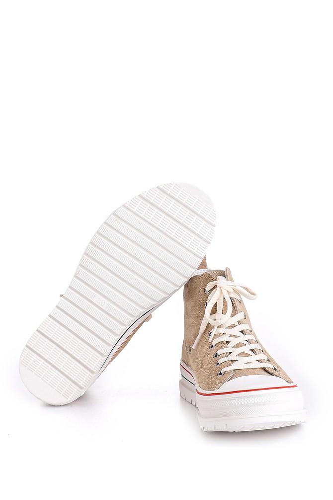5638175298 Kadın Süet Deri Ayakkabı
