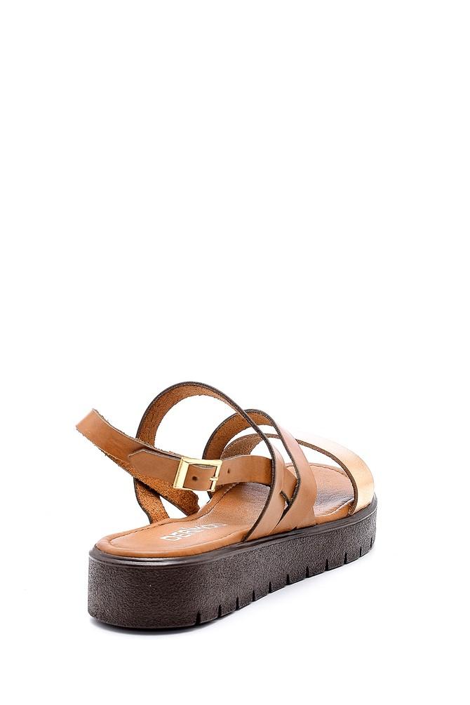 5638161752 Kadın Deri Sandalet