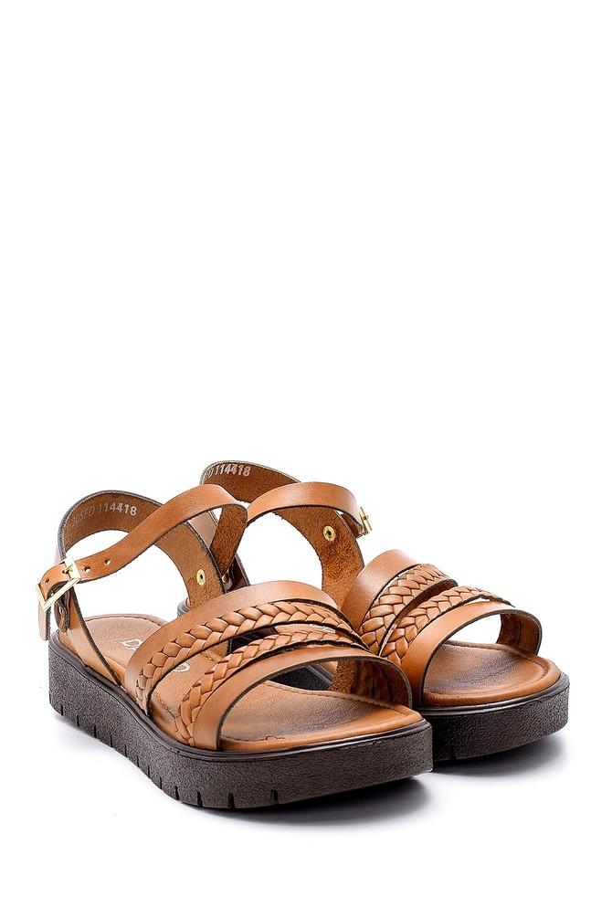5638161823 Kadın Deri Sandalet