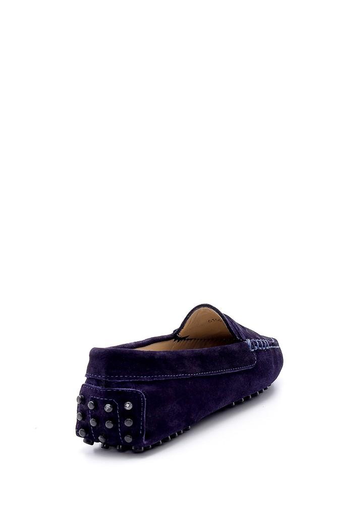 5638162032 Kadın Süet Deri Casual Loafer