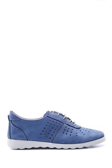 Lacivert Kadın Nubuk Ayakkabı 5638152051