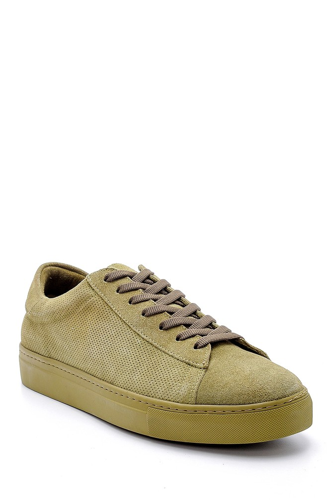 5638124939 Erkek Süet Deri Sneaker