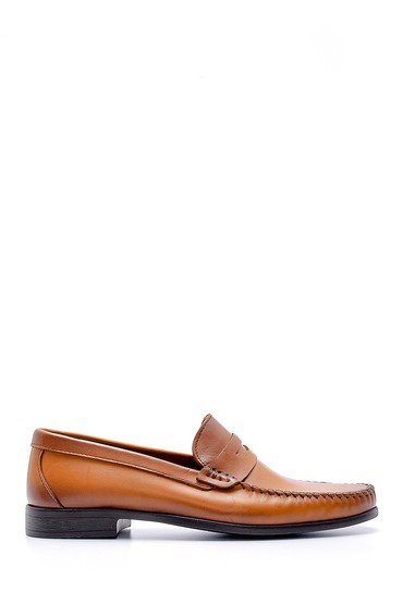 Kahverengi Erkek Deri Klasik Loafer 5638132682