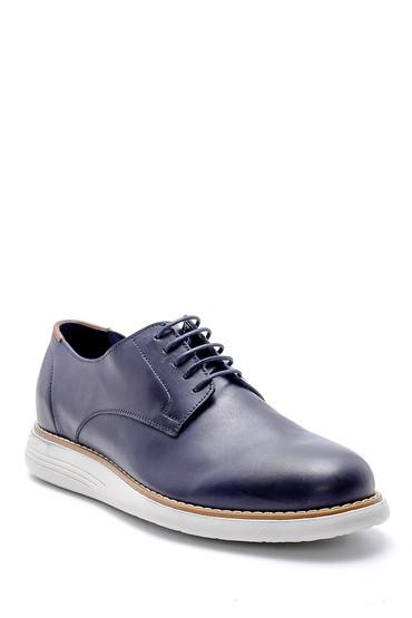 Lacivert Erkek Deri Ayakkabı 5638143290