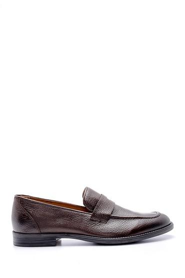 Kahverengi Erkek Deri Klasik Loafer 5638146080