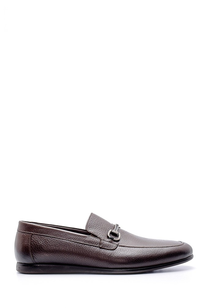 Kahverengi Erkek Deri Loafer 5638149005