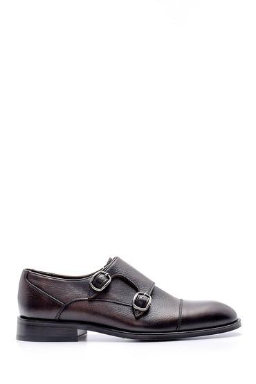 Kahverengi Erkek Deri Ayakkabı 5638149733