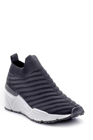 Siyah Kadın Çorap Sneaker 5638166353