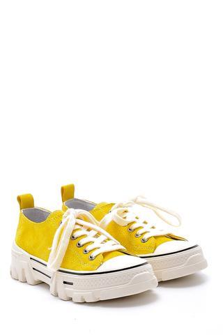 Kadın Süet Deri Sneaker