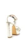 5638175413 Kadın Metalik Topuklu Ayakkabı