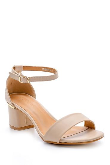 Bej Kadın Sandalet 5638126350