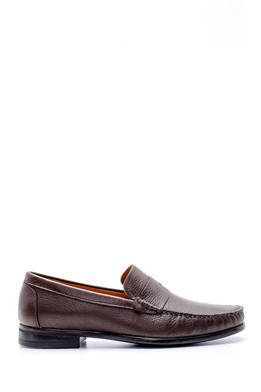 Kahverengi Erkek Deri Loafer 5638124060