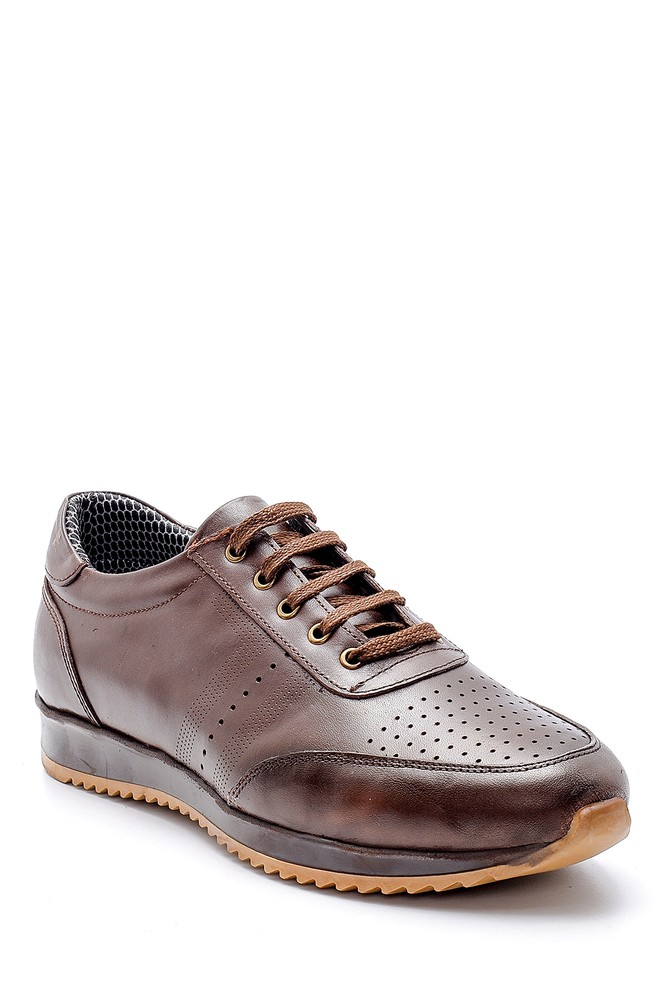 5638130259 Erkek Deri Sneaker