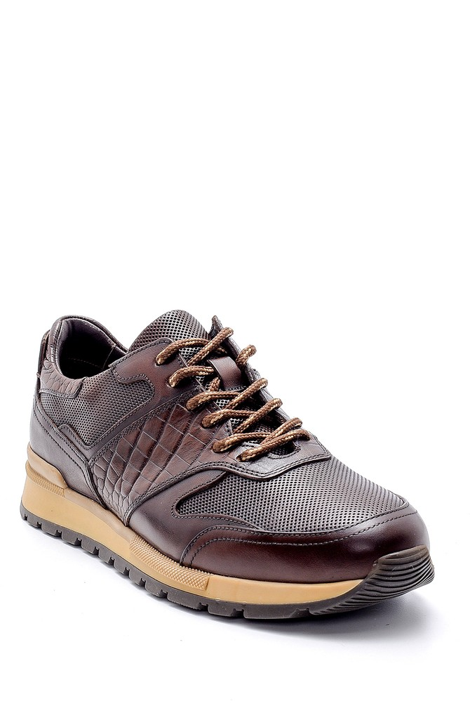 5638143700 Erkek Deri Sneaker