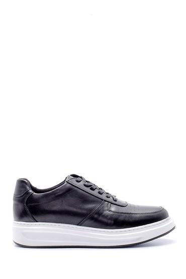 Siyah Erkek Deri Sneaker 5638143856