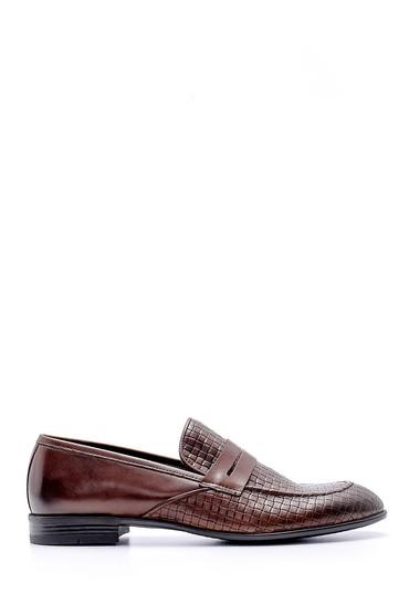 Kahverengi Erkek Deri Klasik Loafer 5638146137