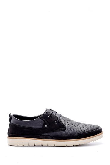 Siyah Erkek Deri Casual Ayakkabı 5638146818