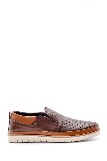 Kahverengi Erkek Deri Casual Ayakkabı 5638147035