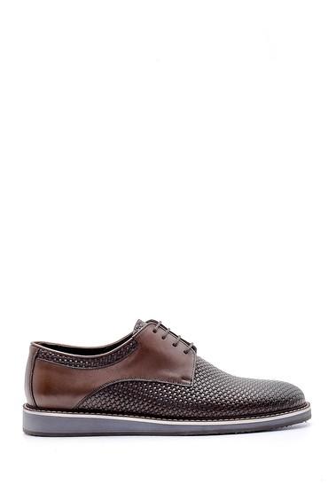Kahverengi Erkek Casual Deri Ayakkabı 5638148625