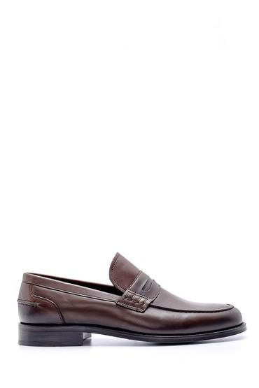 Kahverengi Erkek Deri Klasik Loafer 5638149083
