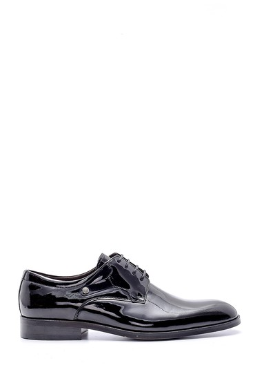 Siyah Erkek Rugan Klasik Ayakkabı 5638150069