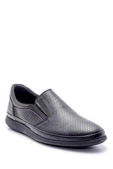 Siyah Erkek Casual Deri Ayakkabı 5638155366