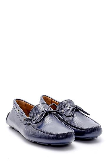 Lacivert Erkek Deri Loafer 5638158951