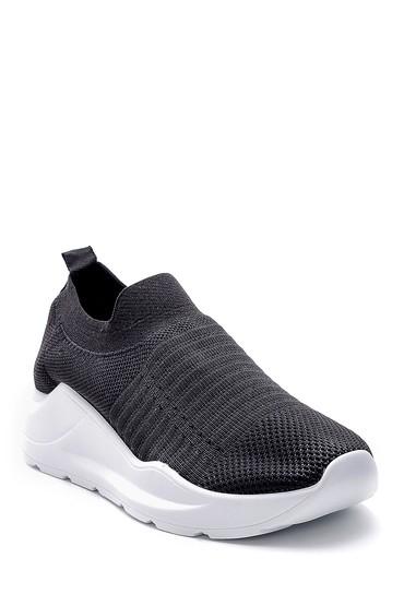 Siyah Kadın Çorap Sneaker 5638142146