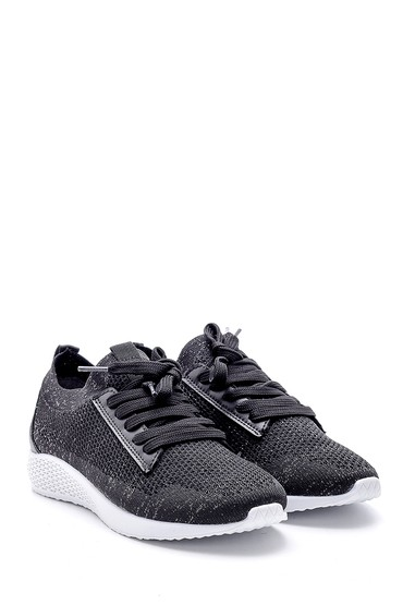 Siyah Kadın Çorap Sneaker 5638142174