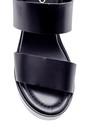 5638160625 Kadın Deri Dolgu Topuklu Sandalet