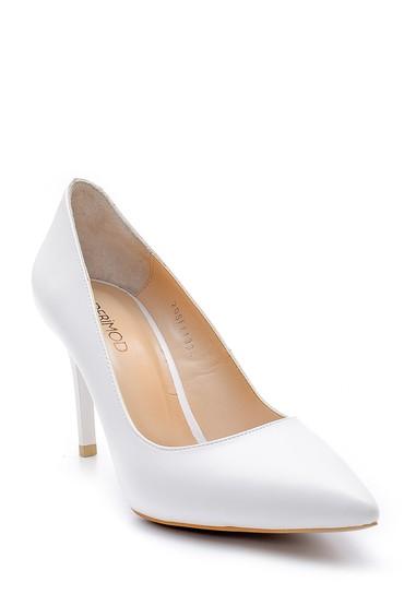 Beyaz Kadın Stiletto 5638163517