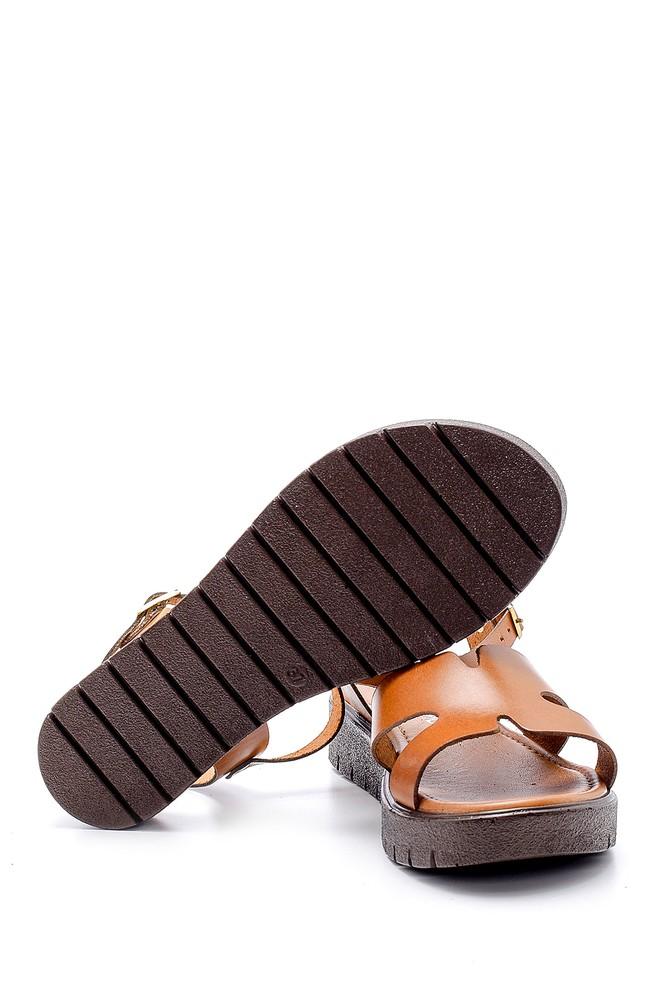 5638161842 Kadın Deri Sandalet