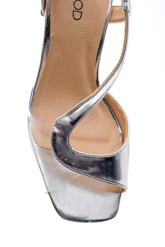 5638125702 Kadın Topuklu Sandalet