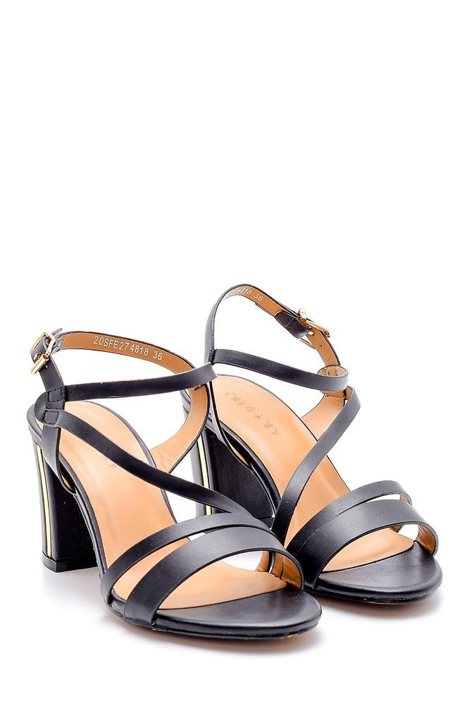 5638133008 Kadın Topuklu Sandalet