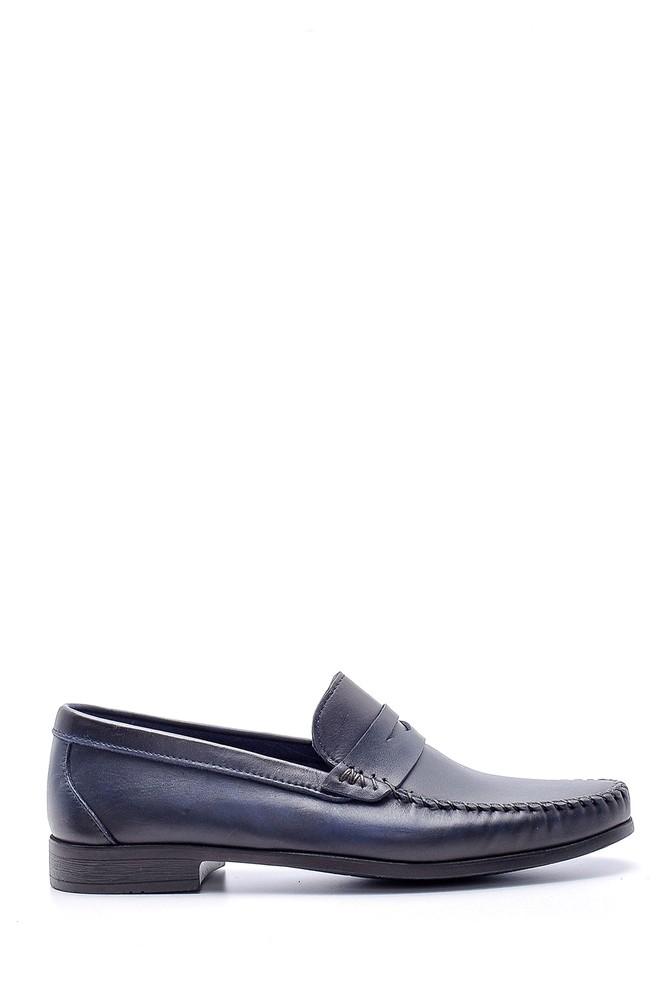 Lacivert Erkek Deri Klasik Loafer 5638132686