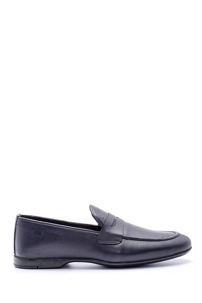 Lacivert Erkek Deri Klasik Loafer 5638134624