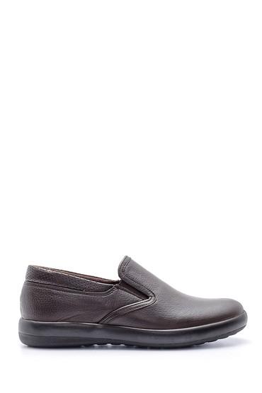 Kahverengi Erkek Deri Ayakkabı 5638134741