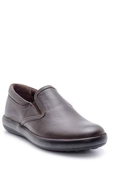 Kahverengi Erkek Deri Ayakkabı 5638134738