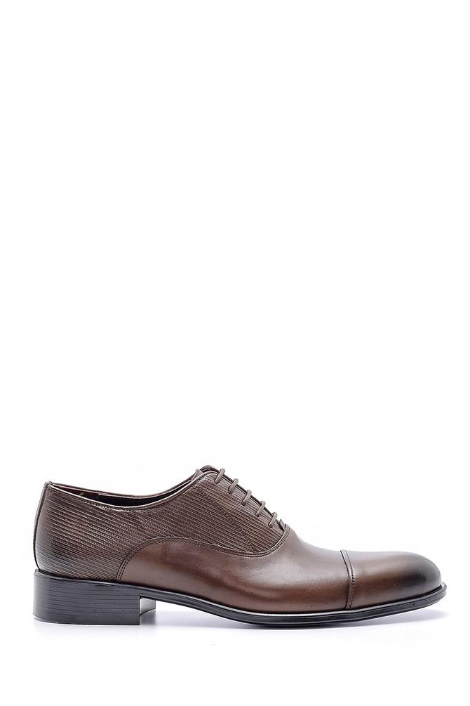 Kahverengi Erkek Deri Klasik Ayakkabı 5638145924