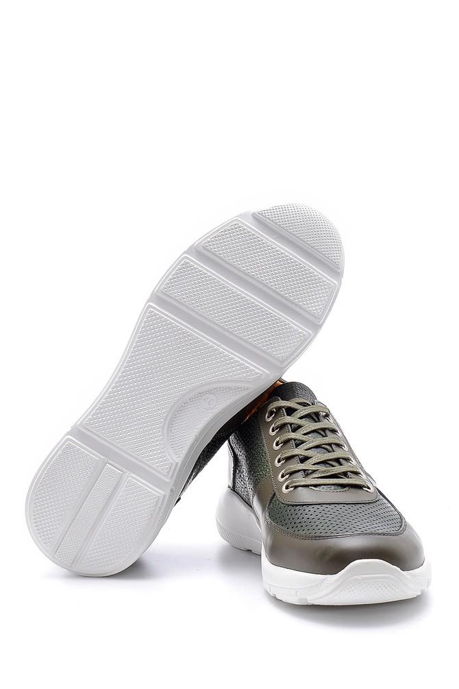 5638148385 Erkek Deri Sneaker