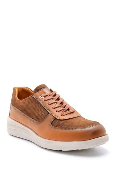 Taba Erkek Deri Sneaker 5638148474