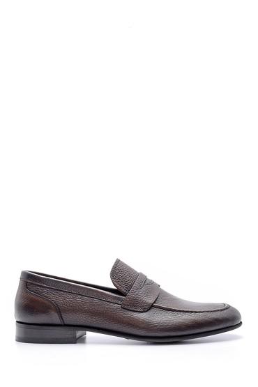 Kahverengi Erkek Deri Klasik Loafer 5638149603