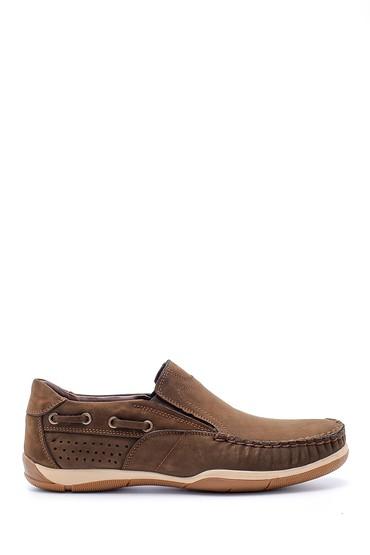 Kahverengi Erkek Nubuk Deri Casual Ayakkabı 5638158418