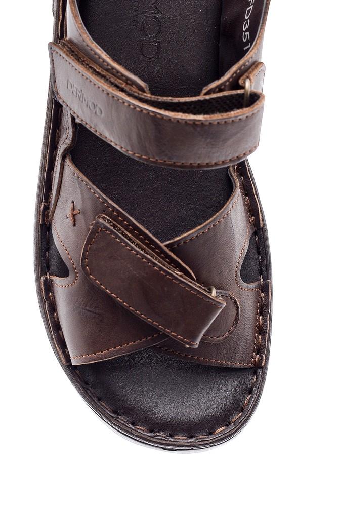 5638160273 Erkek Deri Sandalet