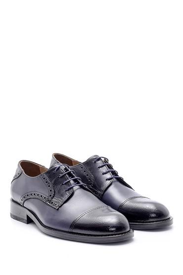 Lacivert Erkek Deri Ayakkabı 5638162890