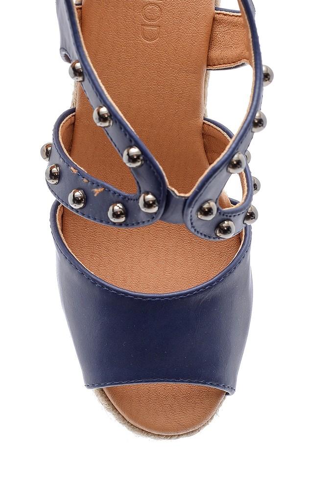 5638135969 Kadın Dolgu Topuklu Sandalet